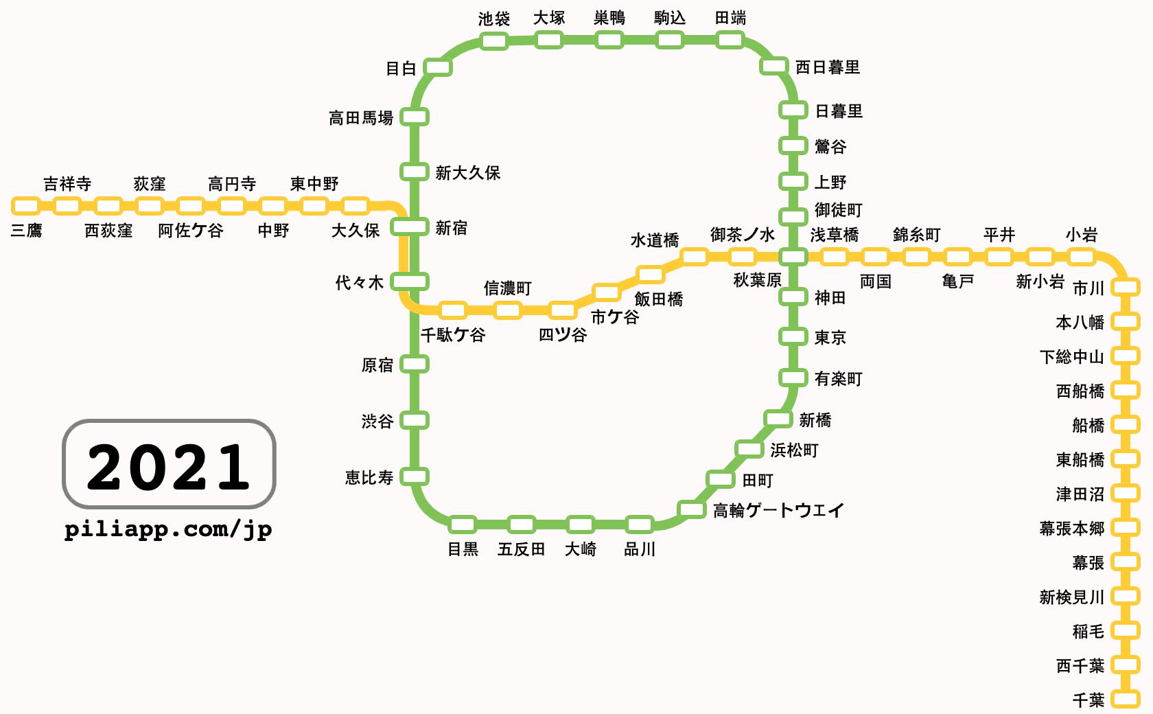 千葉県地図 路線図
